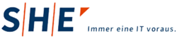 SHE Informationstechnologie AG Partner Logo