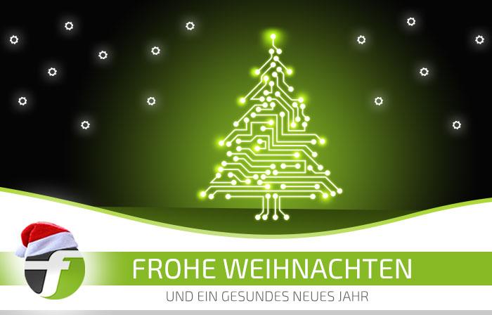 FLOWSTER wünscht frohe Weihnachten und ein gutes Jahr 2018