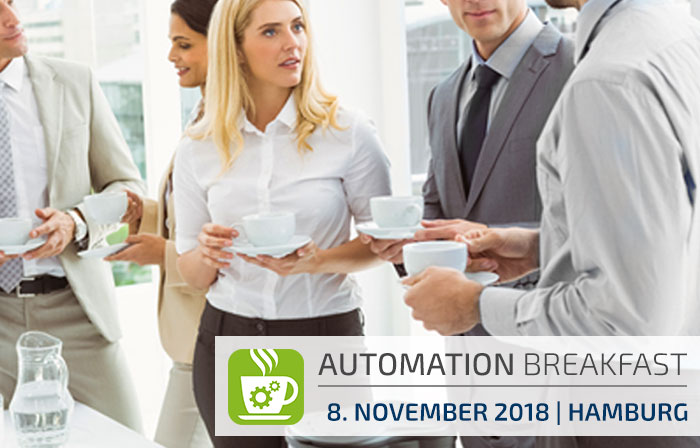 Automation Breakfast Hamburg | 8.11.2018