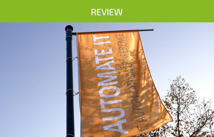 News Review AUTOMATE IT 2018 Frankfurt
